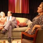 Nick & Honey couch, Martha foreground